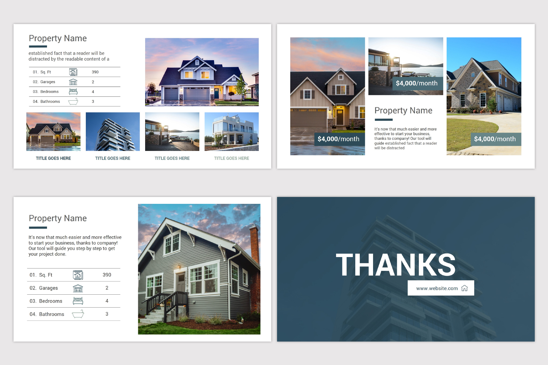 Real Estate Google Slides Template example image 11