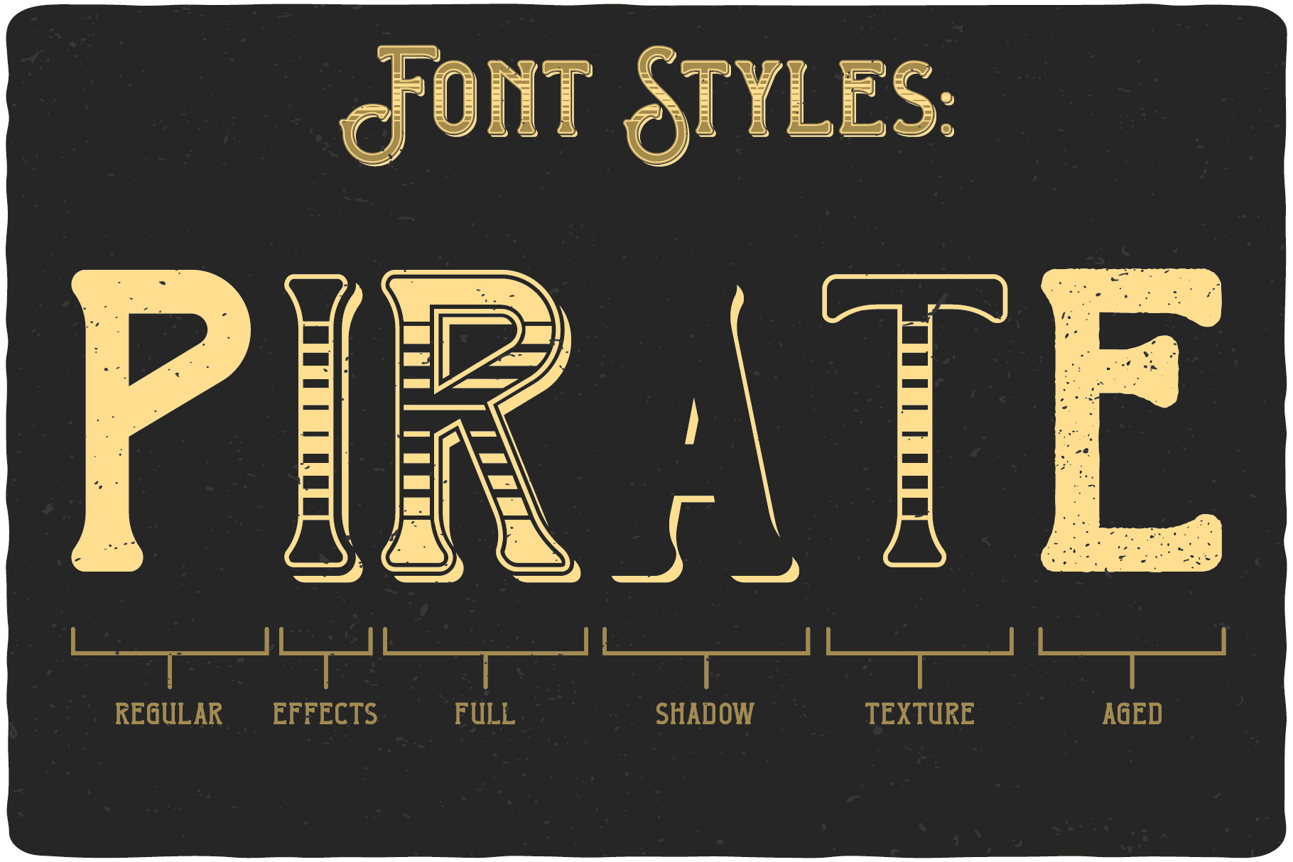 Pirate Bay Typeface example image 4