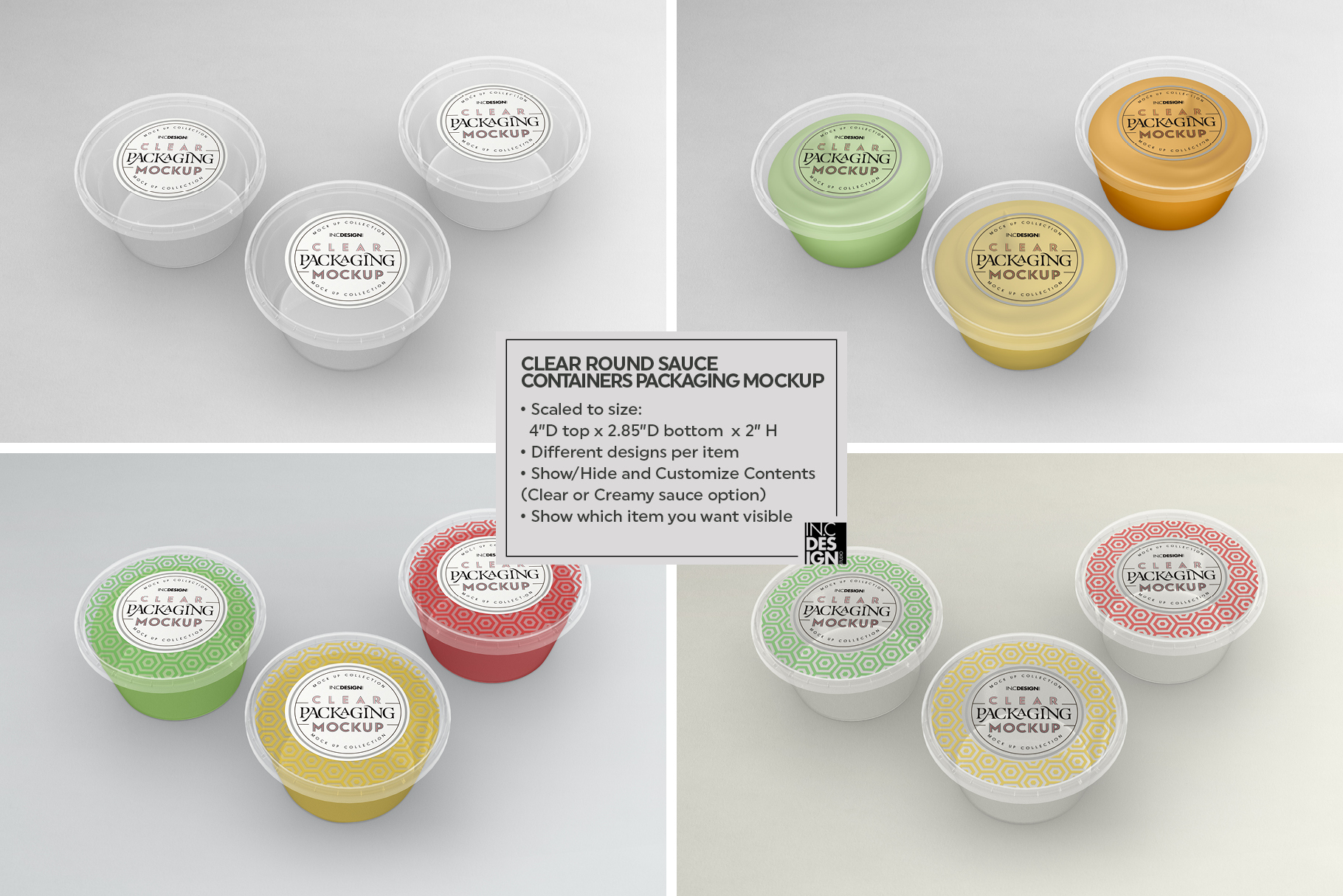 VOL.7 Clear Packaging Mockup Collection example image 3