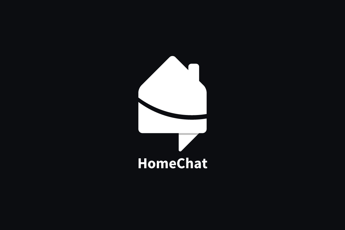 Home Chat Logo Template example image 3