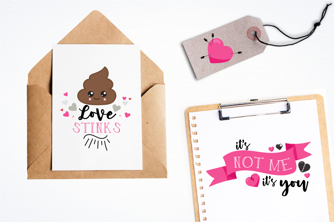 Anti-Valentine graphic and illustrations example image 2