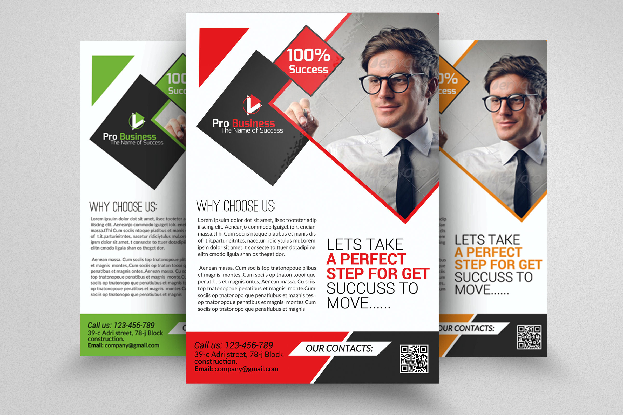 Business Dealing flyer Psd example image 1