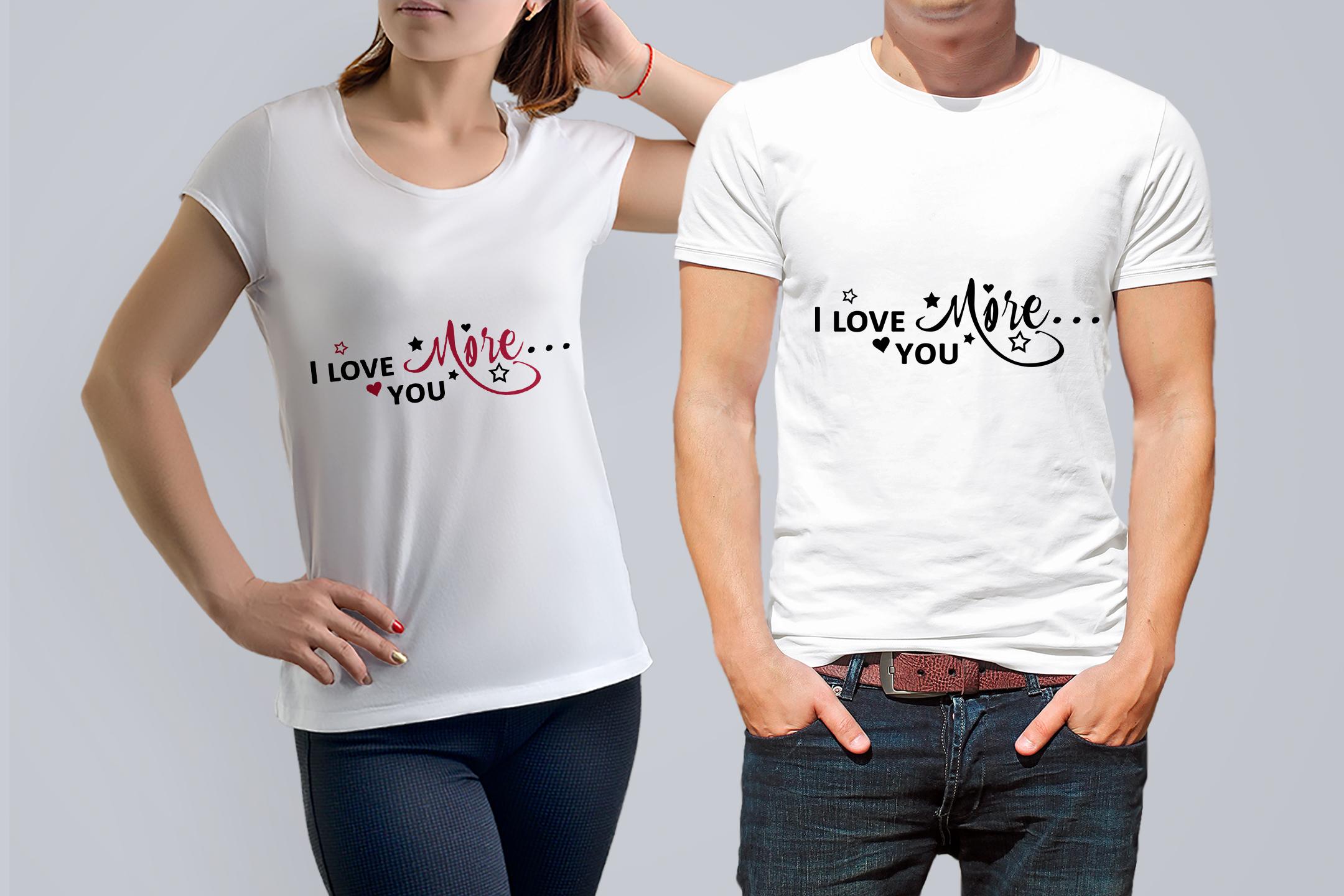 I Love you more svg Valentine svg Love heart svg example image 4