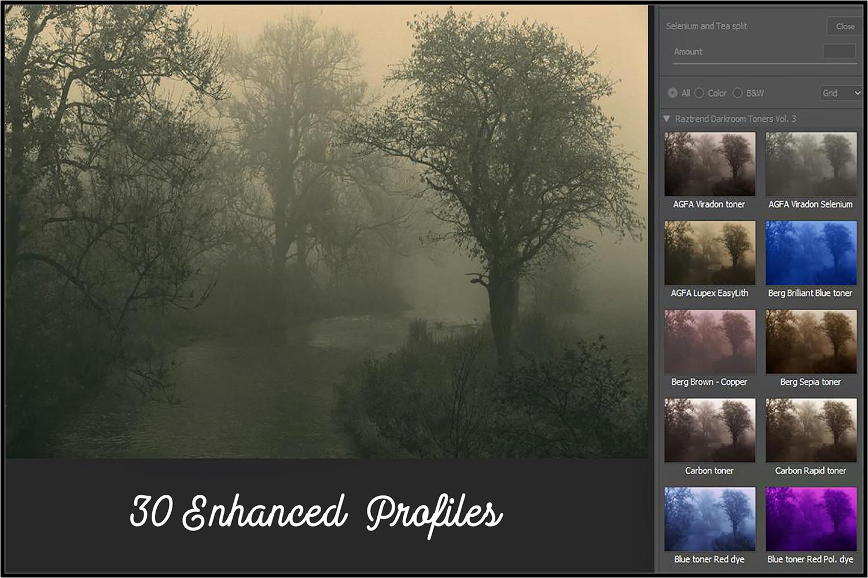 Darkroom Toners Vol. 3 profiles Lightroom ACR example image 2