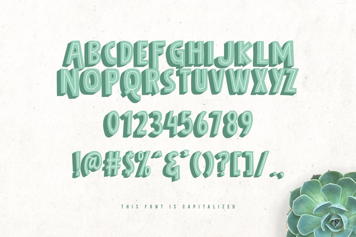 Bolder Typeface example image 3