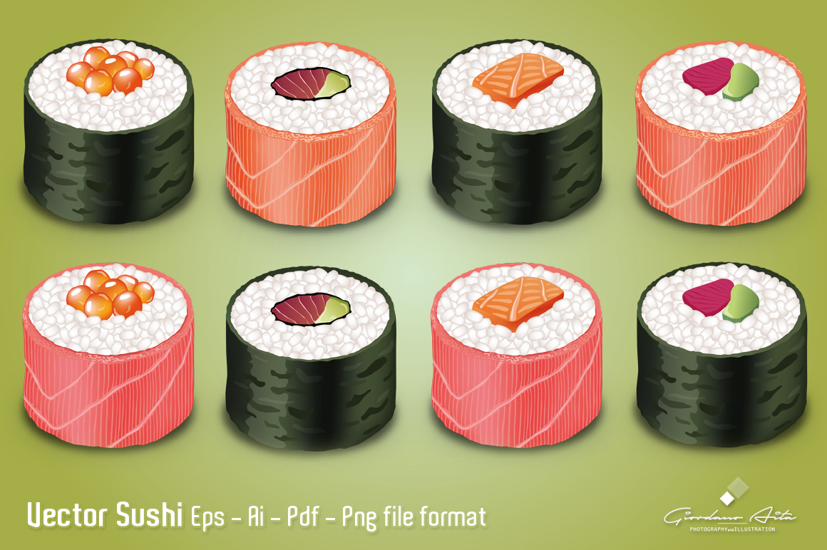 Vector SUSHI example image 2