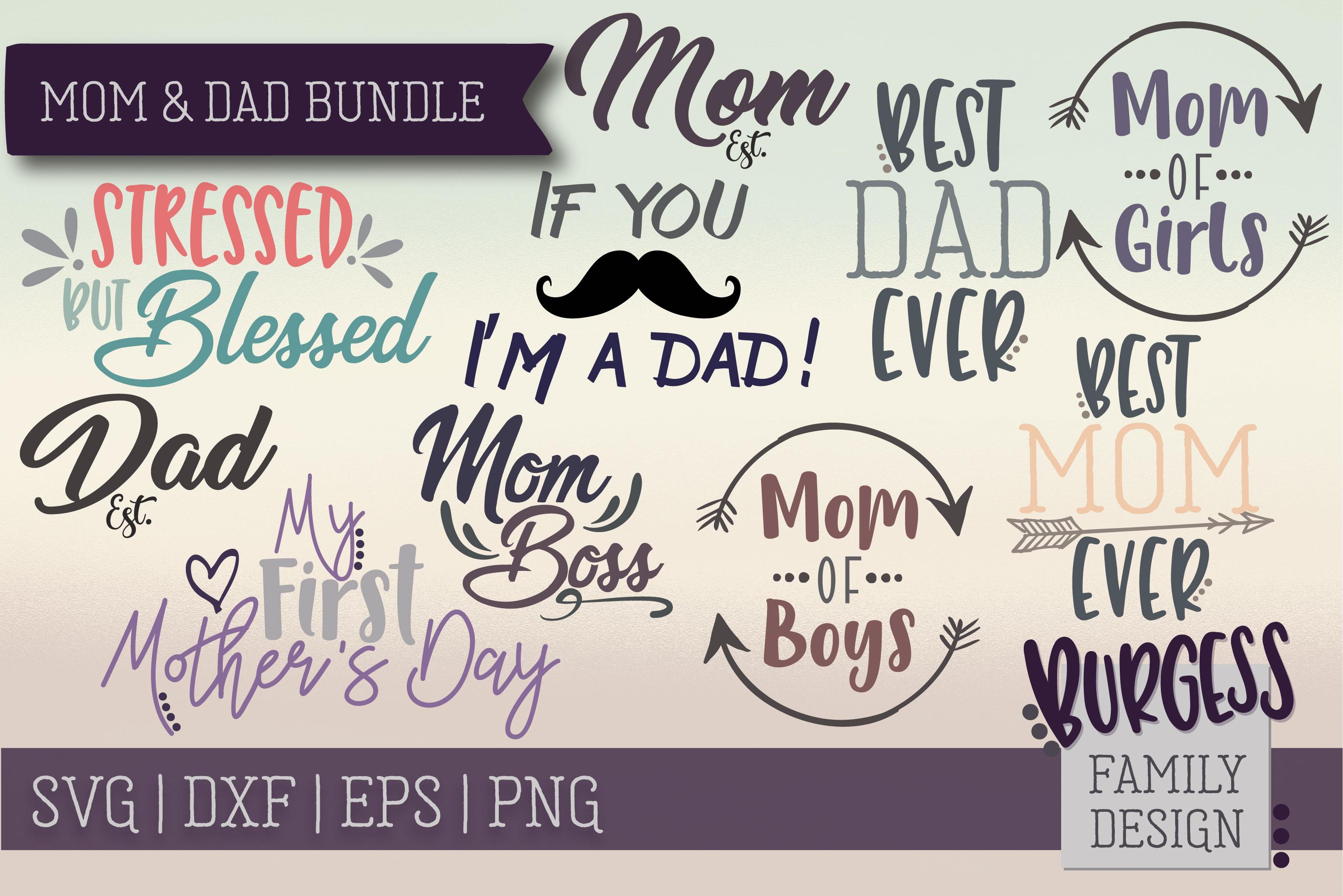 The starter bundle - Over 200 Designs | SVG DXF EPS PNG example image 16