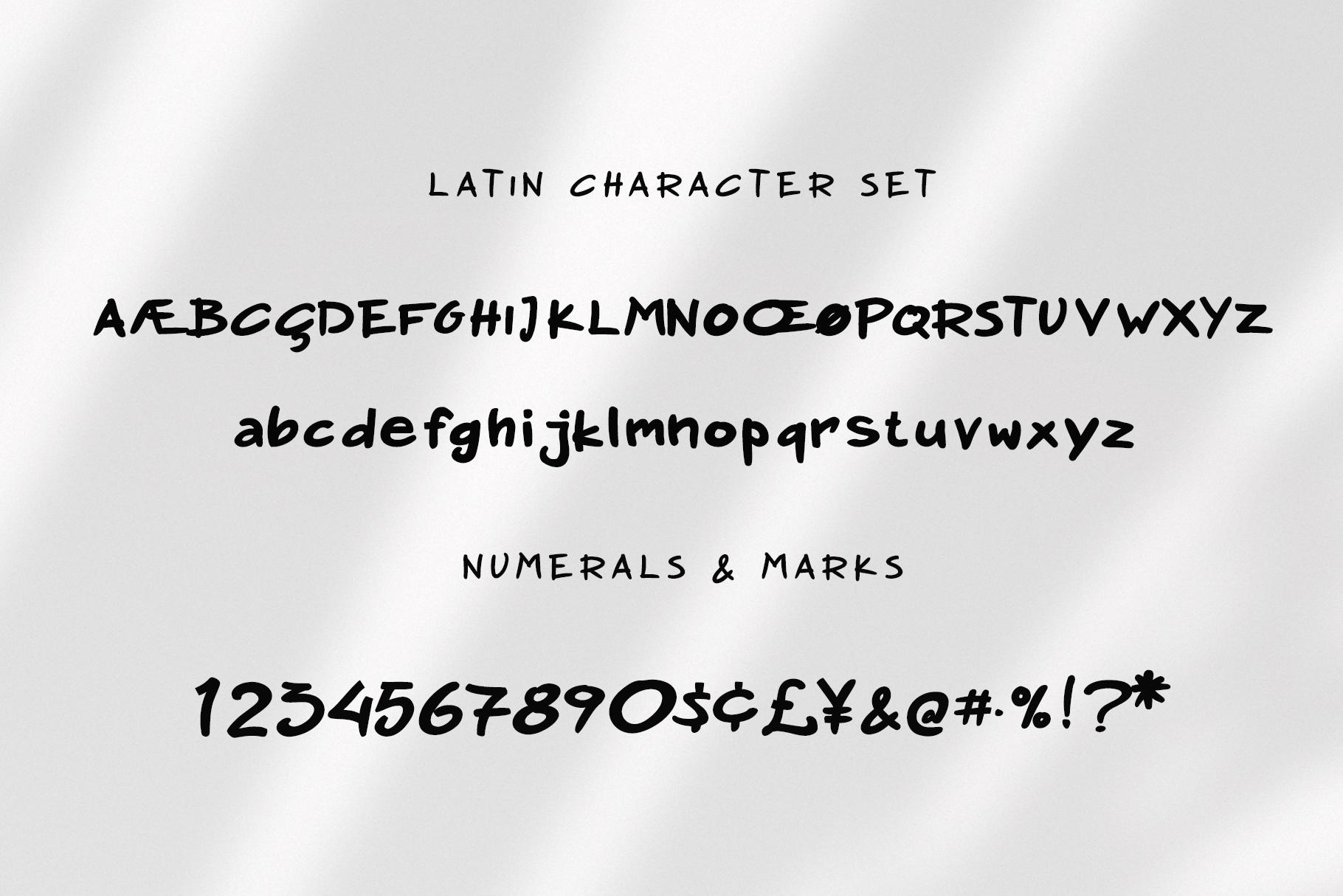 Nadoco Variable Handwritten Font example image 5