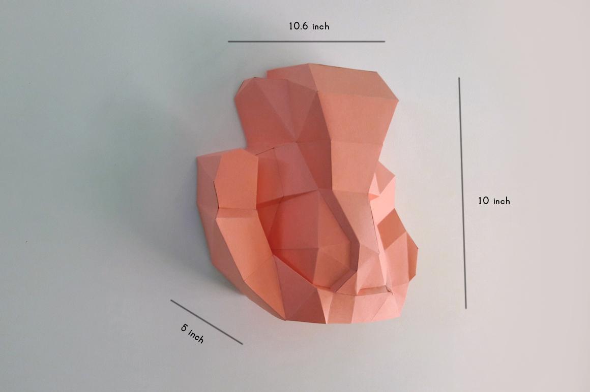 DIY Ganesha Sculpture - 3d papercraft example image 4