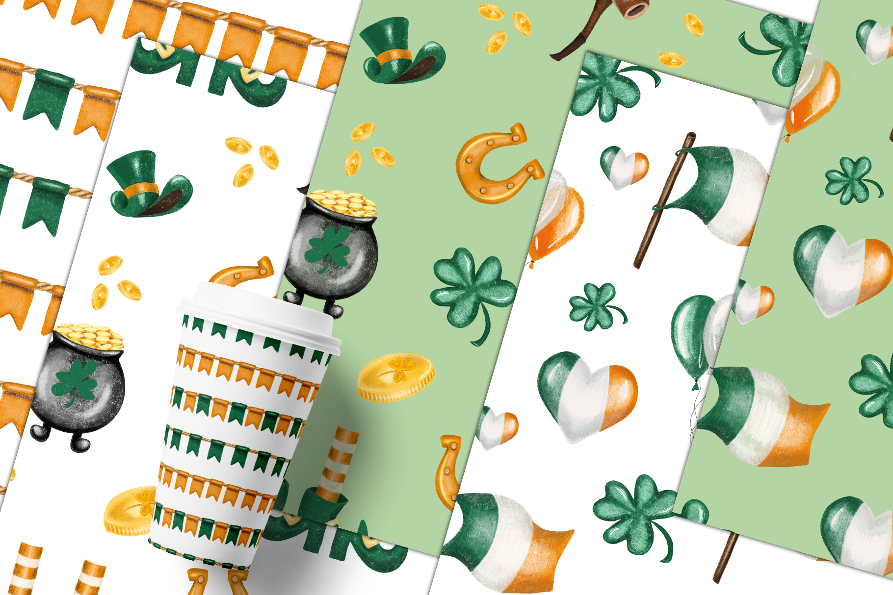 St. Patrick's Day clipart example image 6