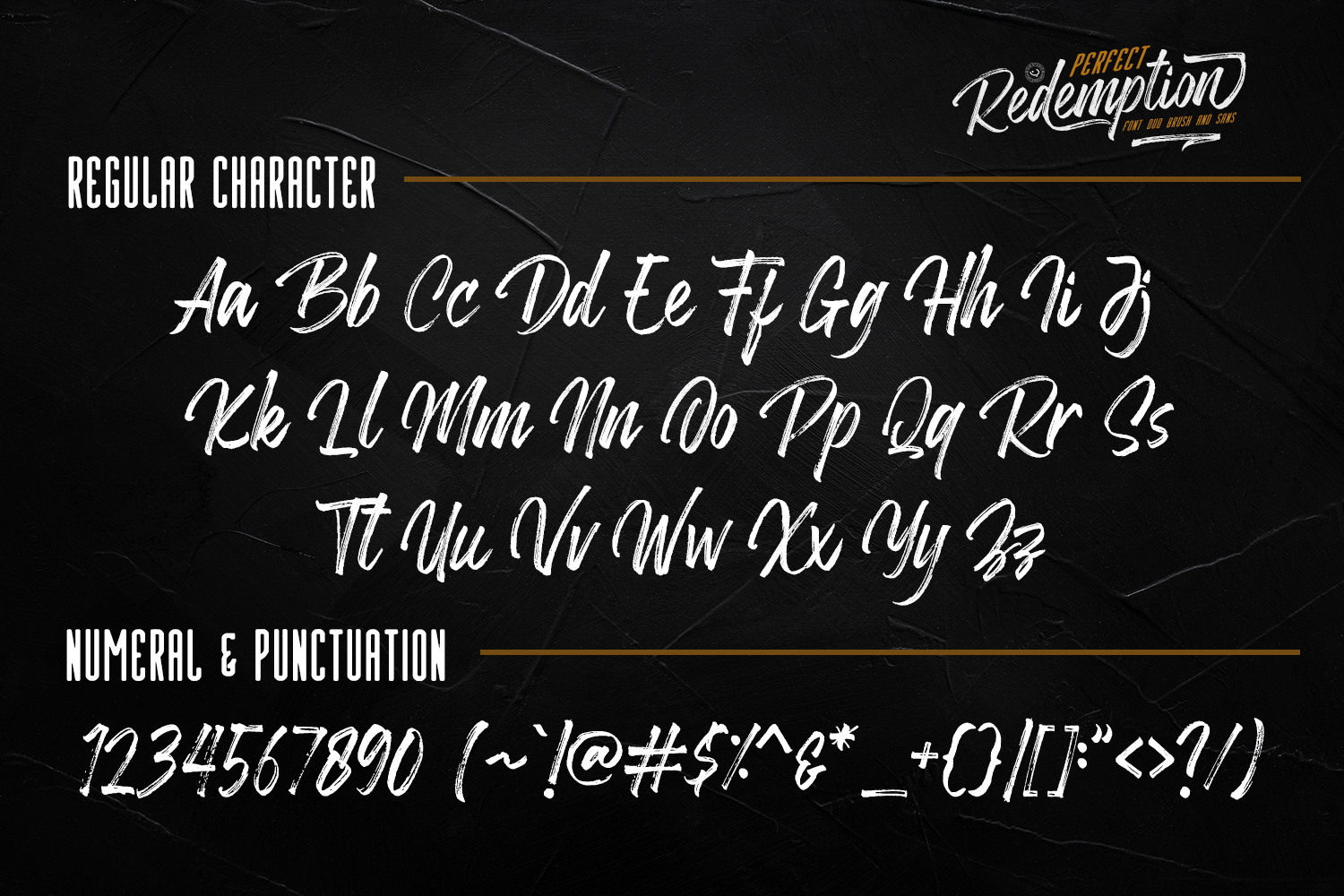 Perfect Redemption- Font Duo and Extras example image 9