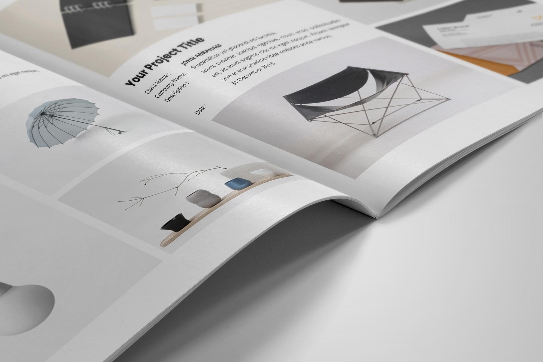 Portfolio Brochure Design v4 example image 8