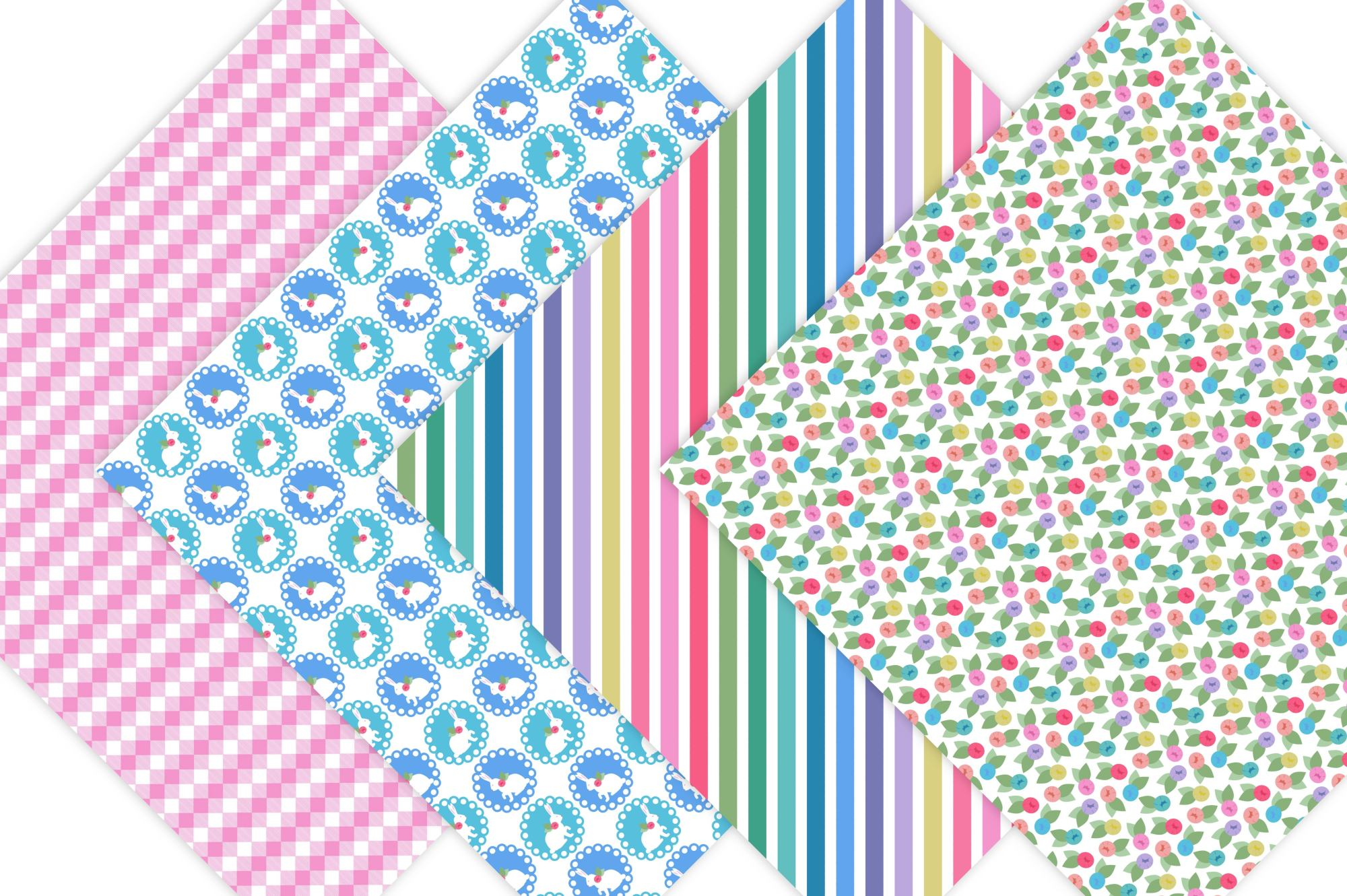 Easter Digital paper example image 3