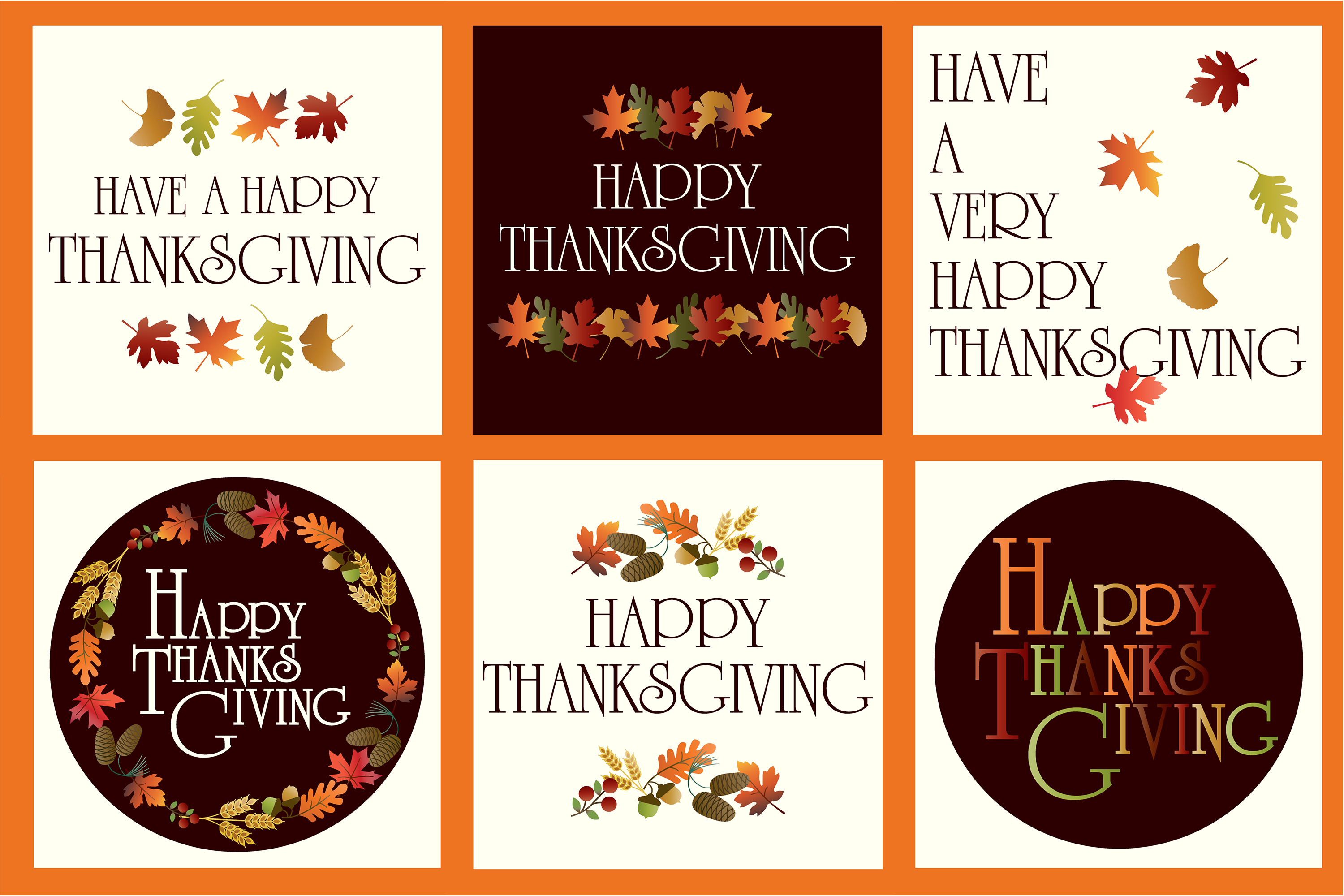 Thanksgiving Graphics example image 2
