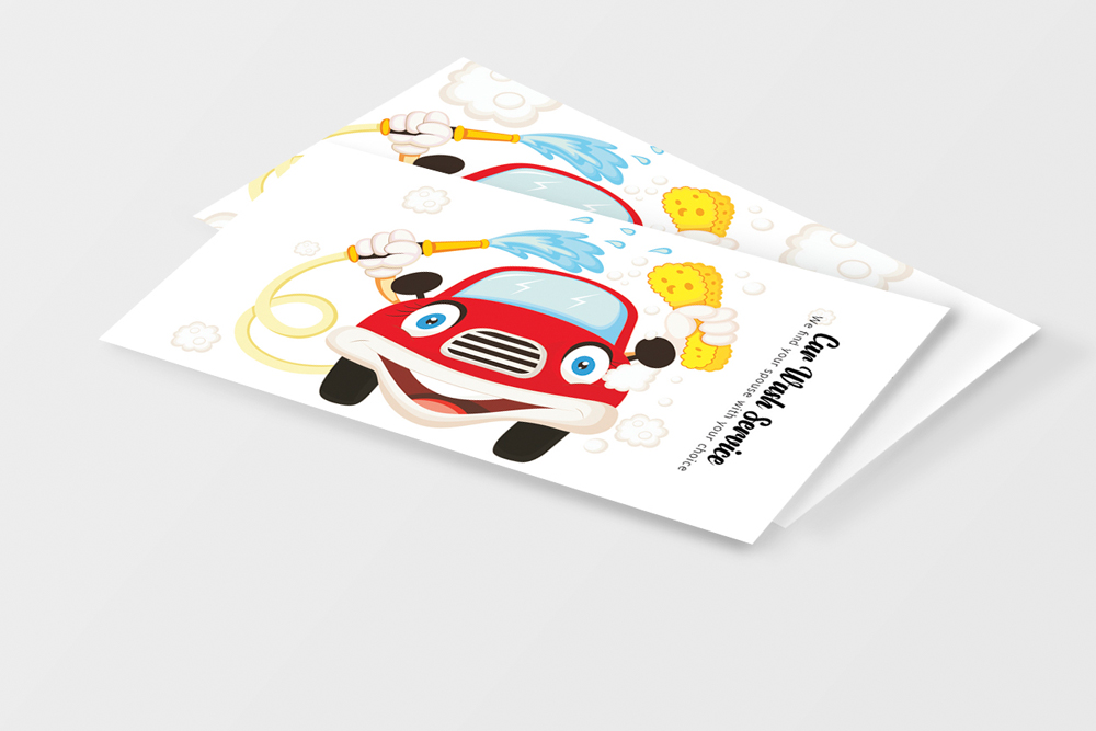 Car Wash Business Card example image 2