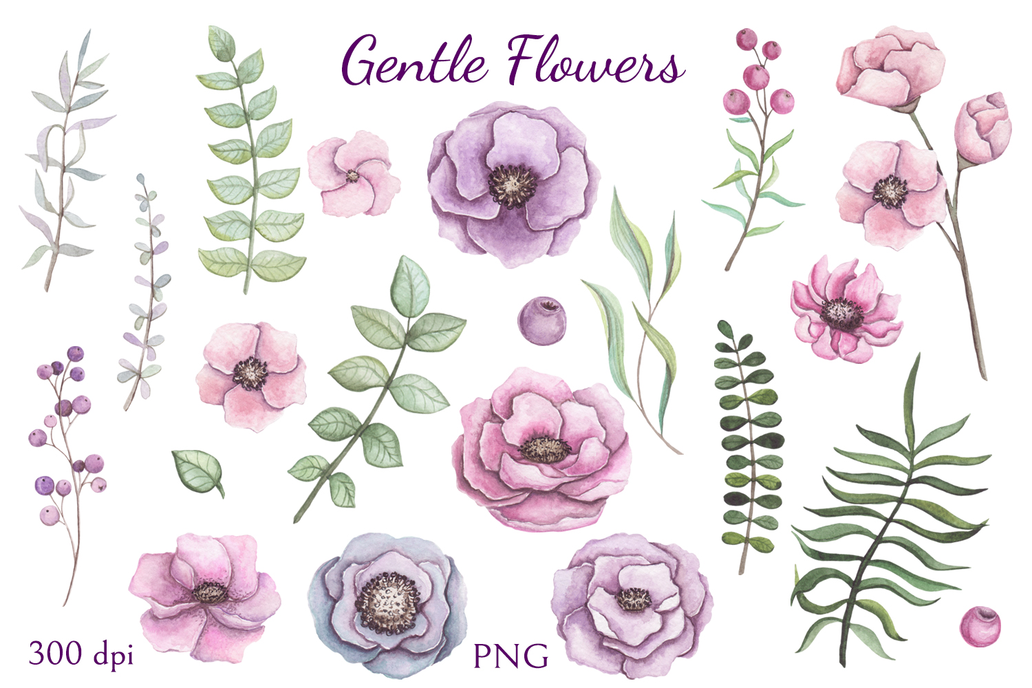 Gentle Flowers example image 4
