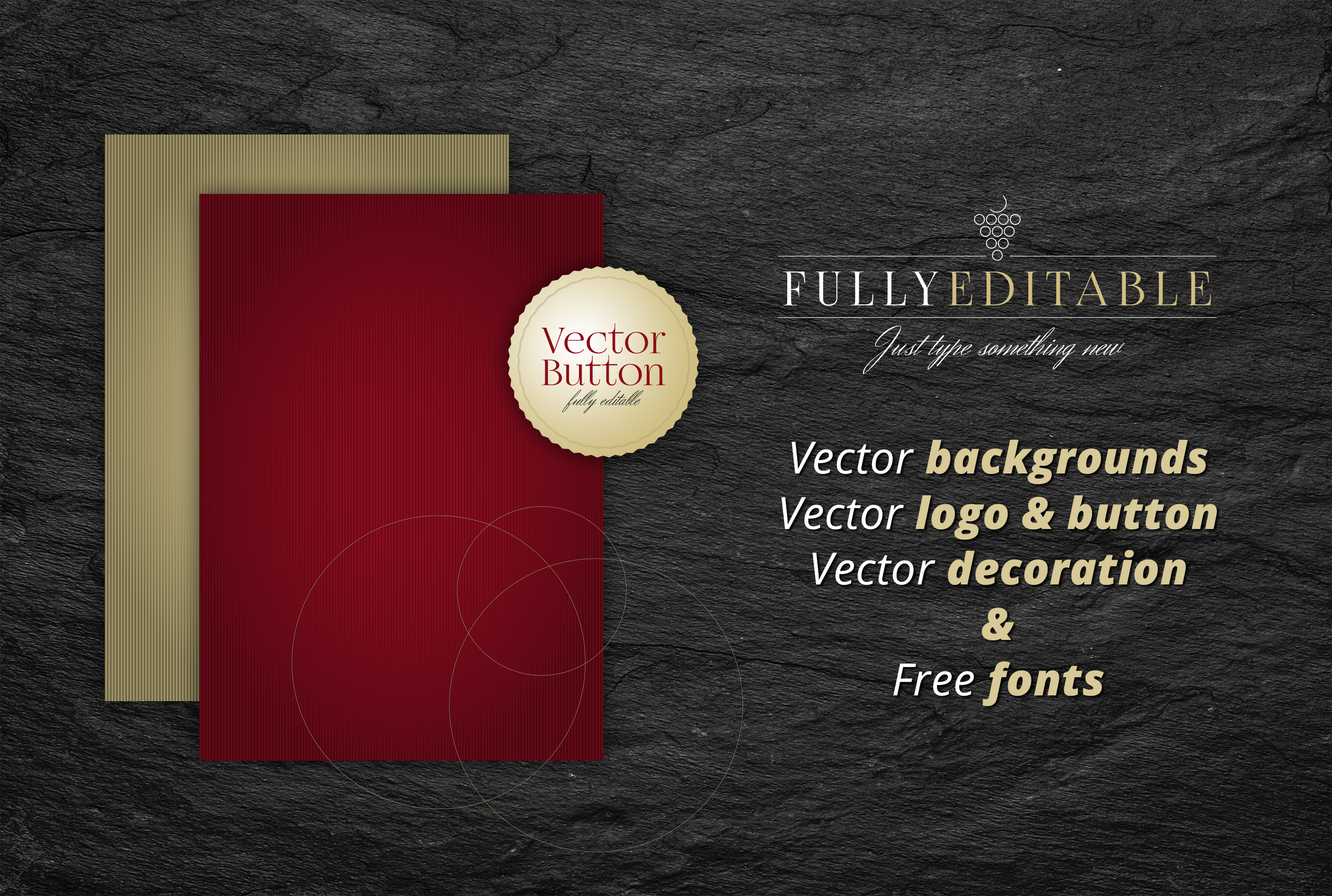 Fine Wine Vol.2 - Folder & Invitation example image 3