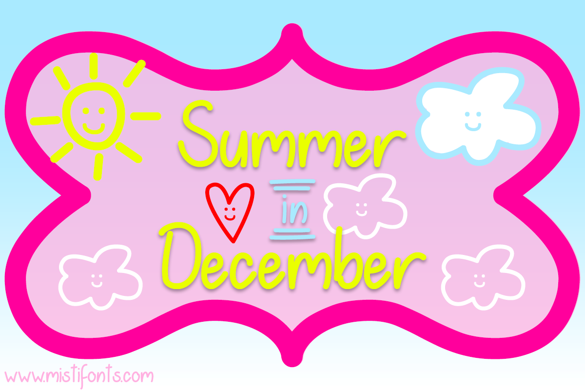 Summer in December example image 1