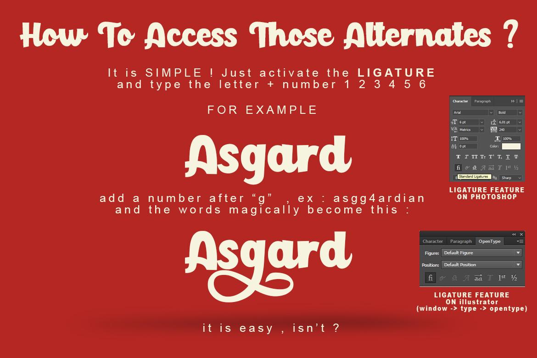 Paladise Font & Extras example image 8