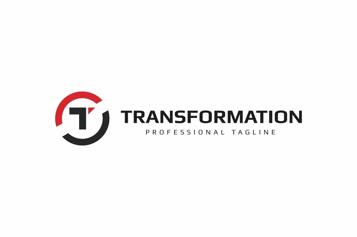 Letter T - Transform Logo example image 3