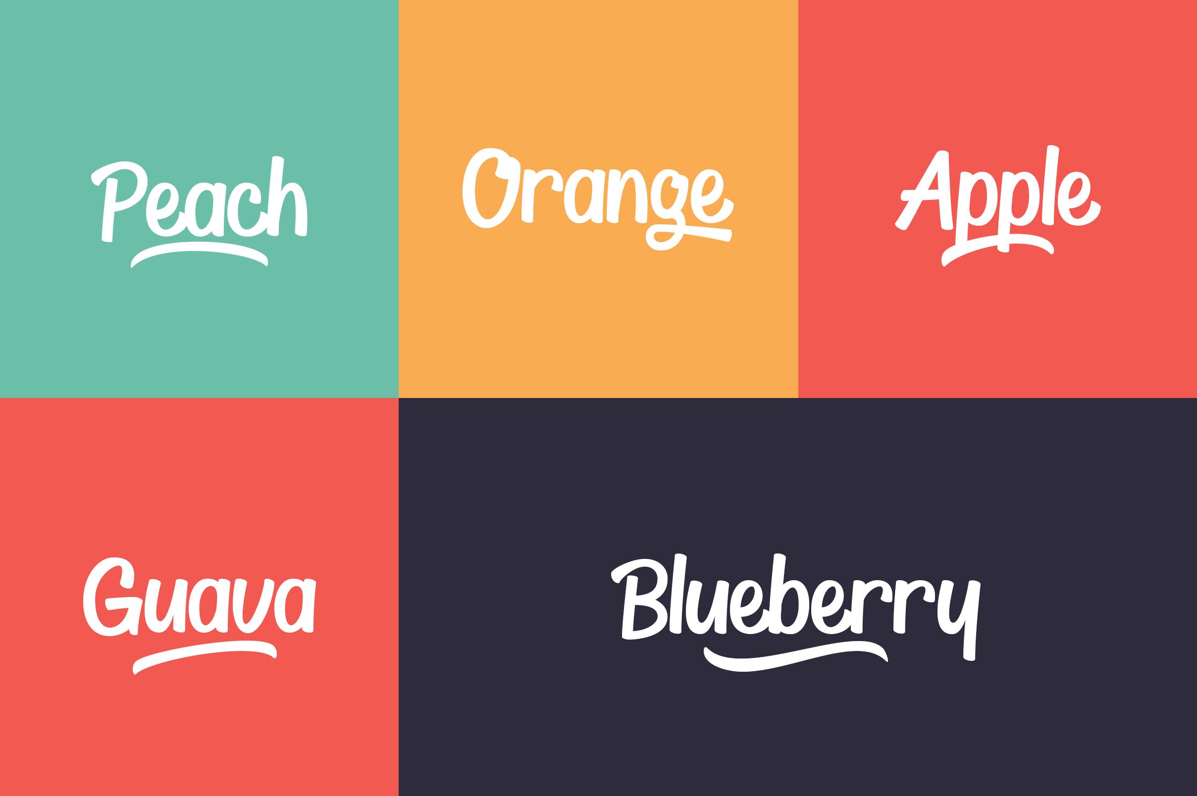Thyeena Fonts & Illustration example image 4