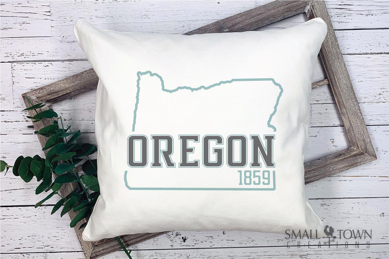 Oregon, Pacific Wonderland - slogan, PRINT, CUT & DESIGN example image 9