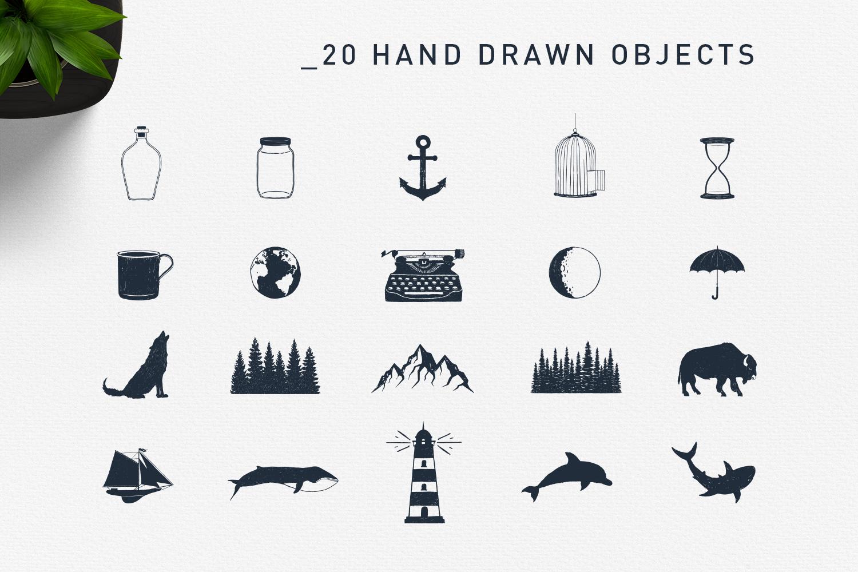 Double Exposure. 20 Creative Logos example image 5