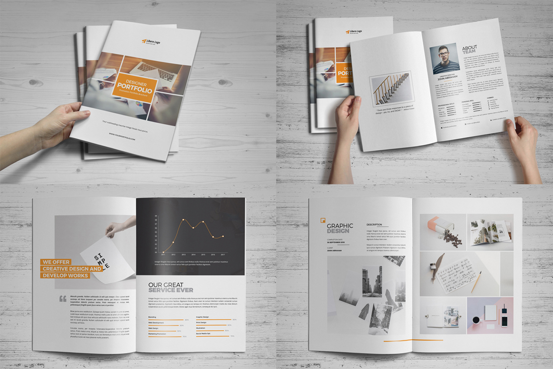 Portfolio Brochure Bundle example image 16