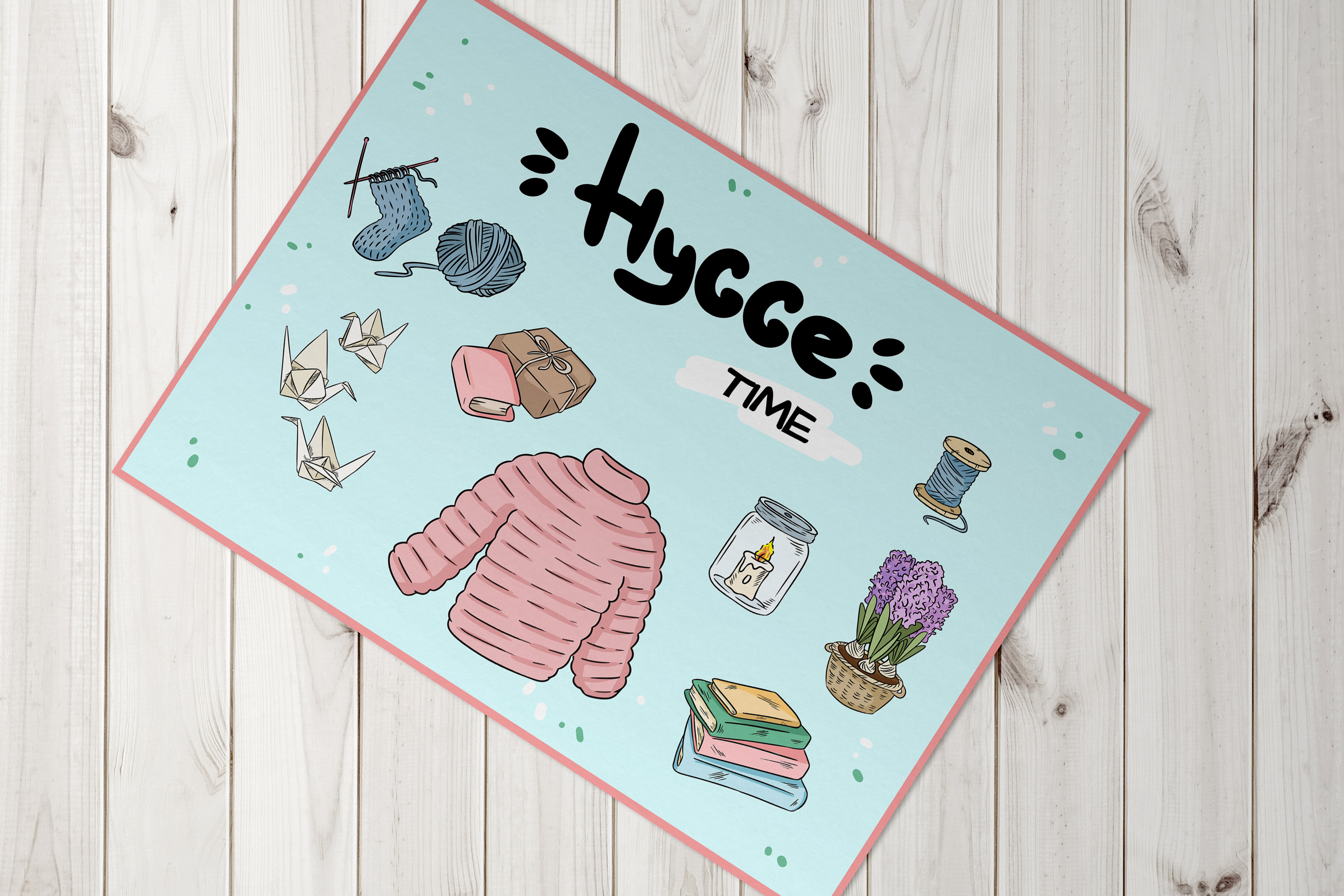 Hygge Mood Postcards example image 3