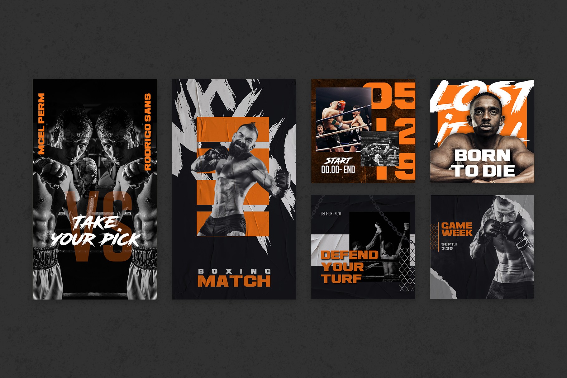 Boxing Instagram Templates example image 11