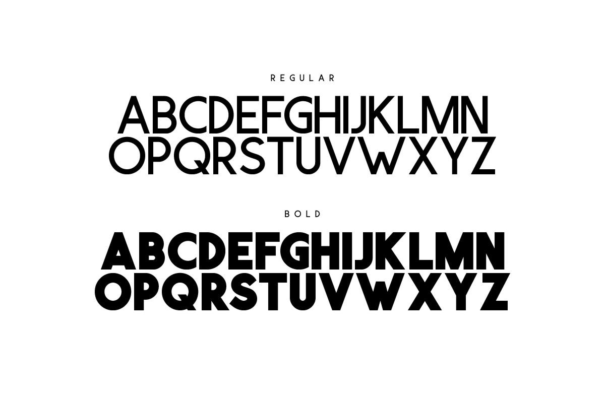 Visage Typeface example image 2
