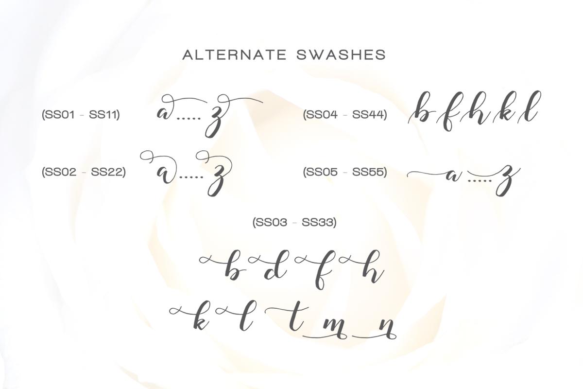 Monatia - Elegant Script example image 12