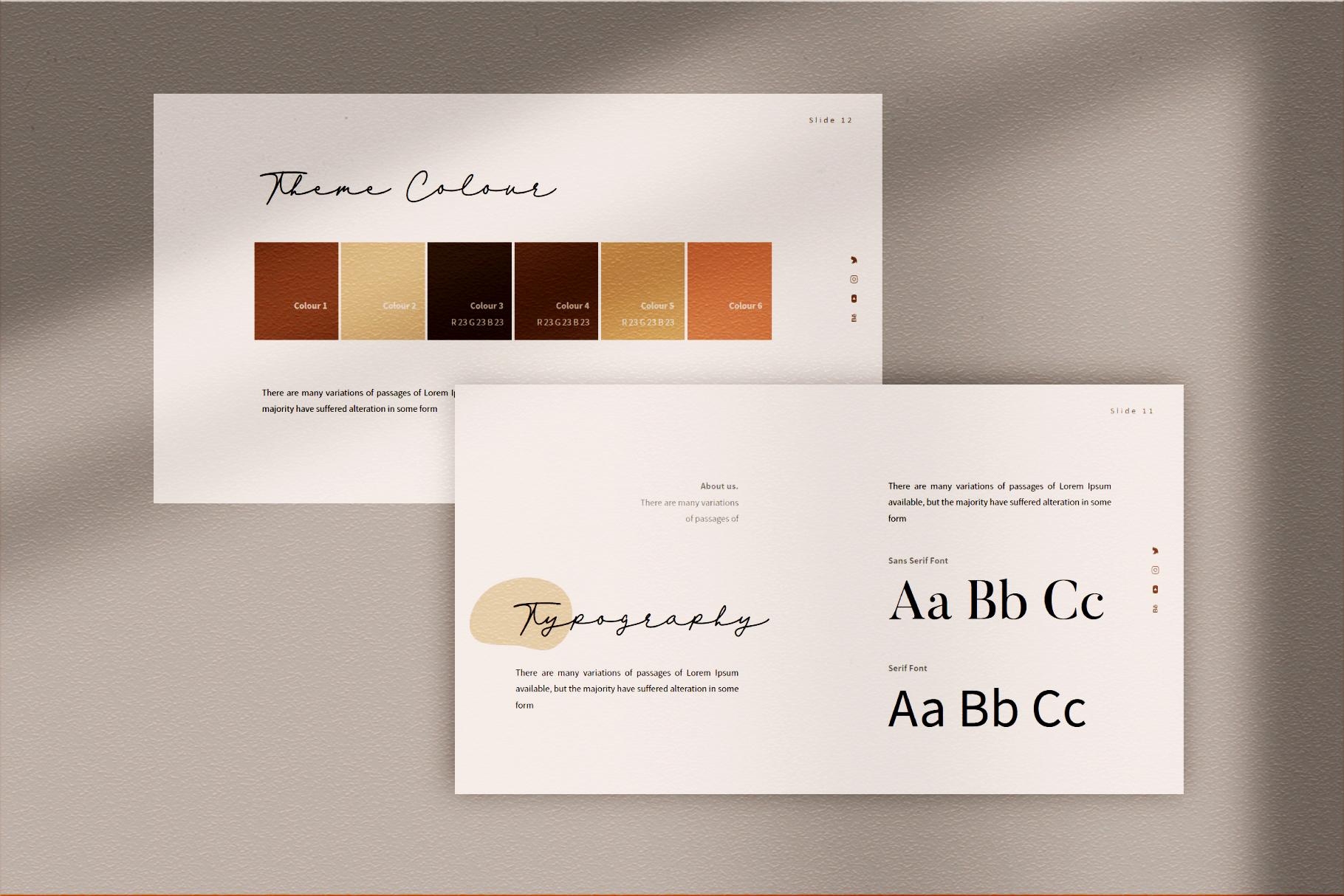 VIersa Creative Presentation Template example image 5