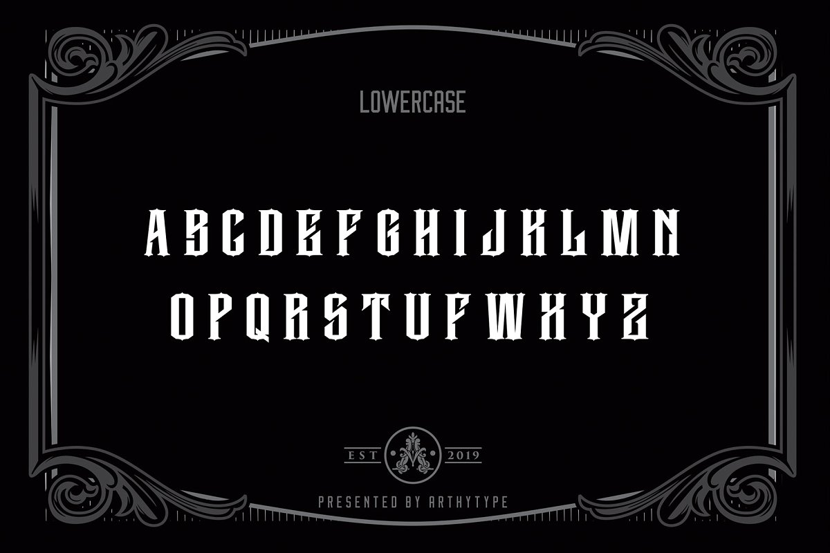 Reaverock Display Font example image 3