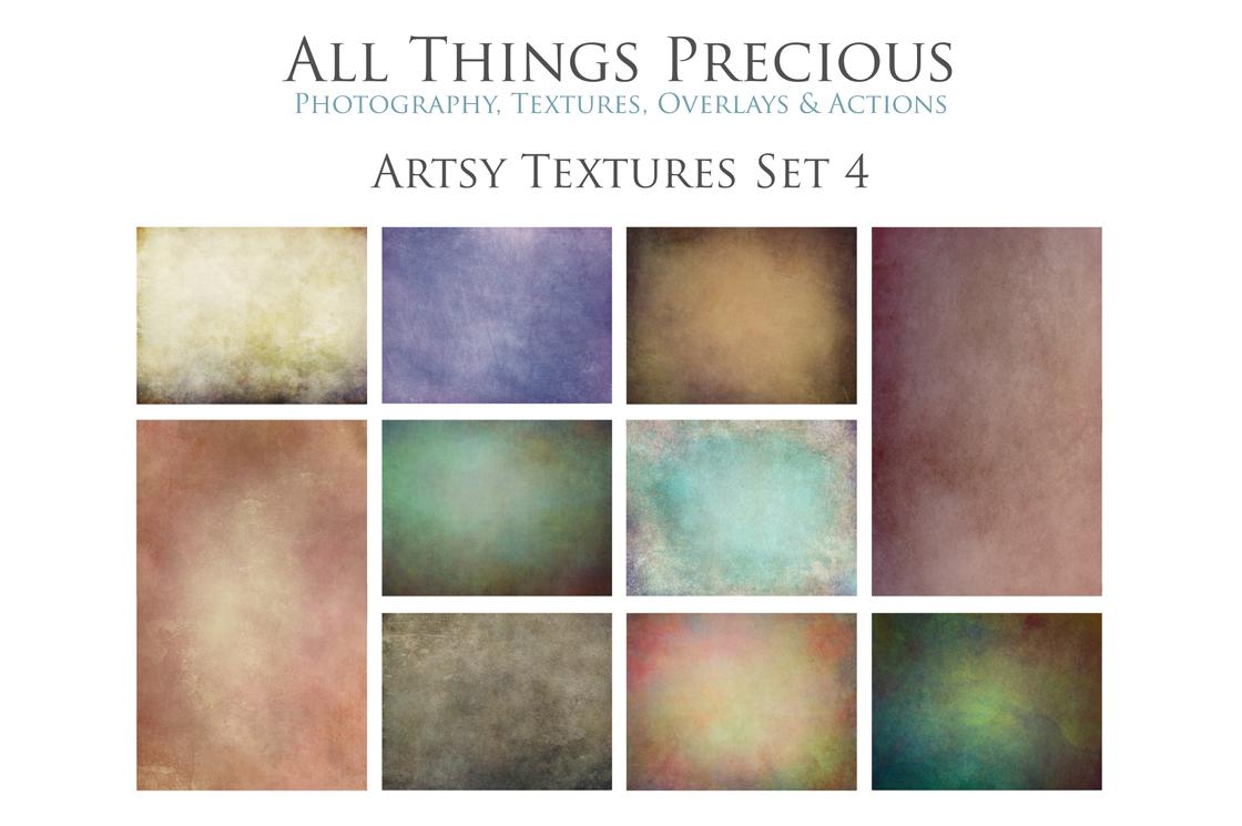 10 Fine Art ARTSY Textures SET 1 example image 1