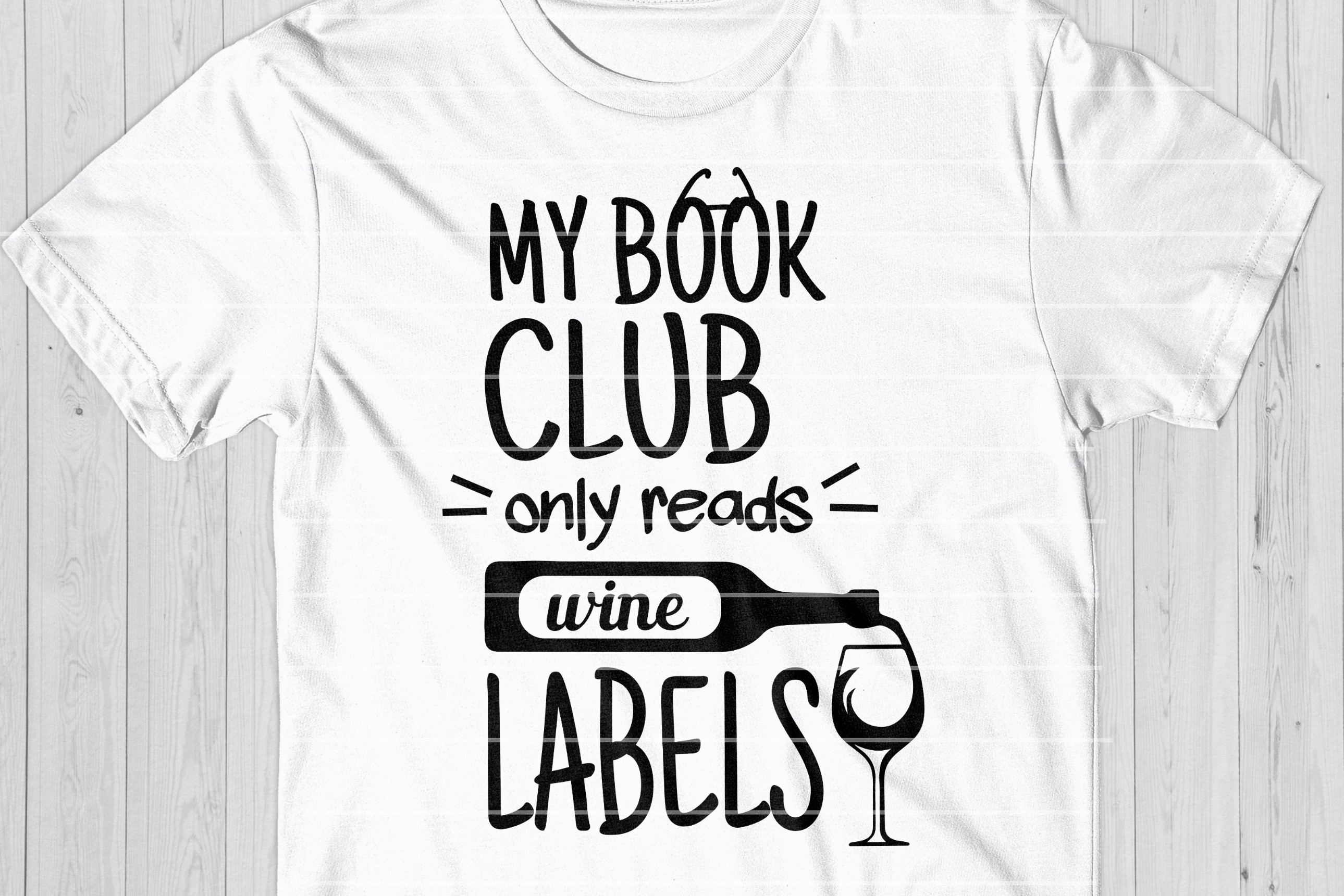Wine Quote SVG, Wine Lovers Quote Cut File example image 1