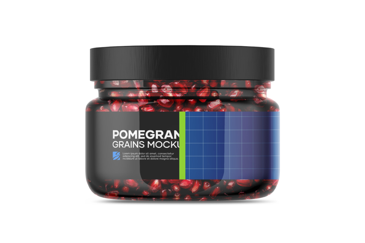 Pomegranate Grains Mockup example image 5