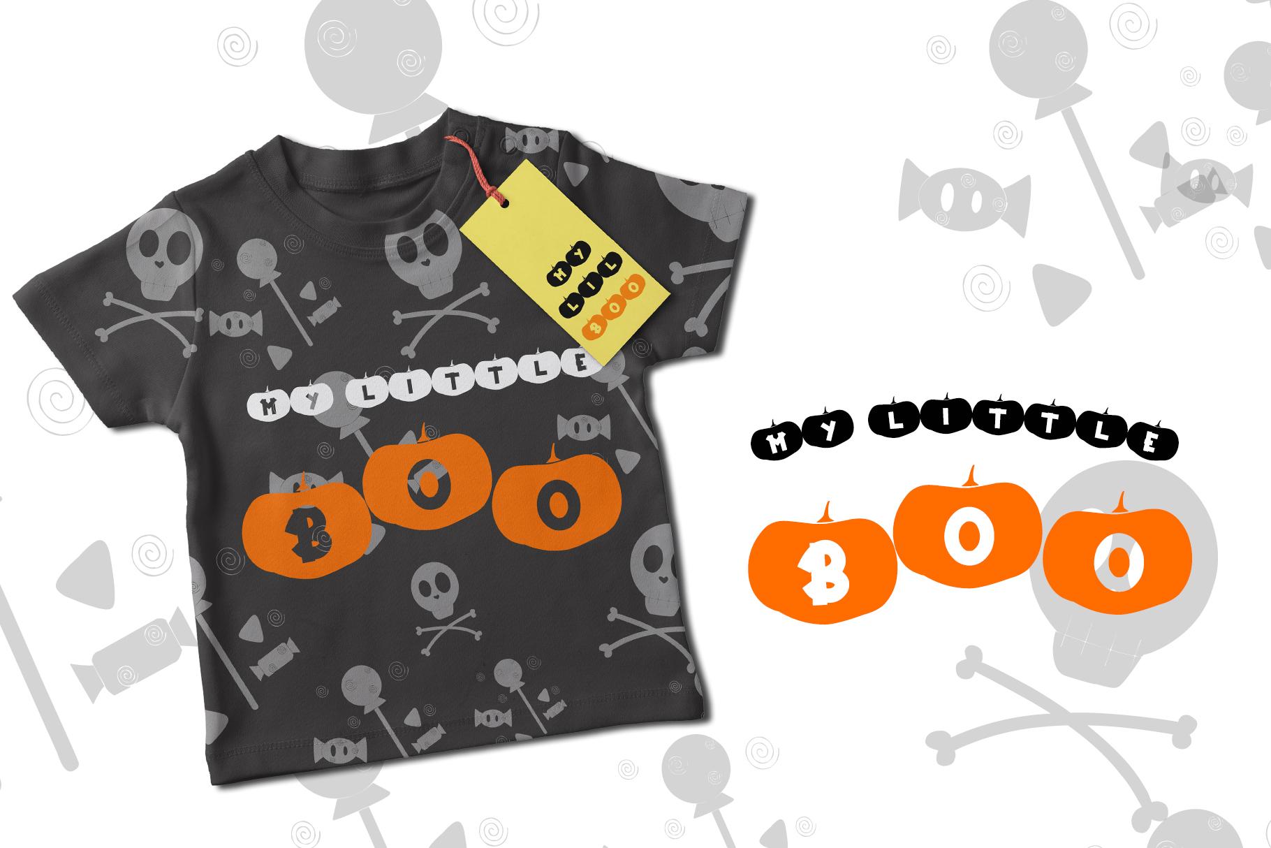 Happy Pumpkins - Pumpkin Decoration Font example image 2