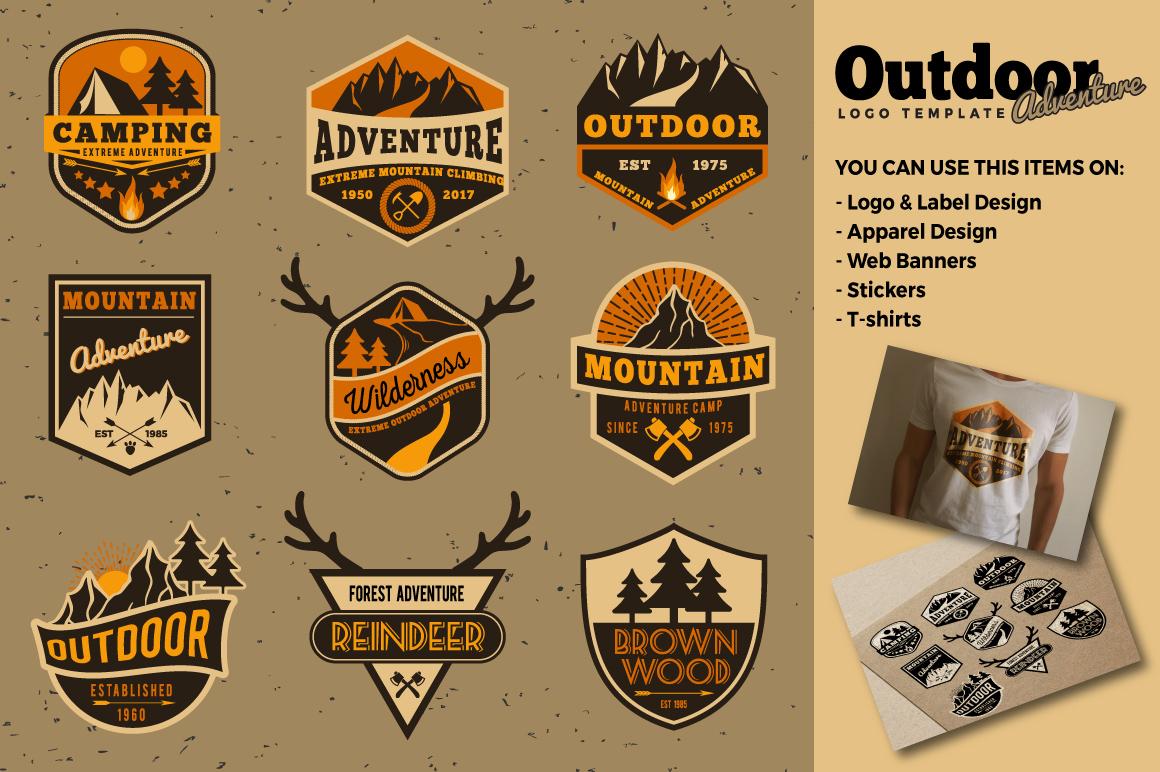 Outdoor Adventure Logo Templates example image 1