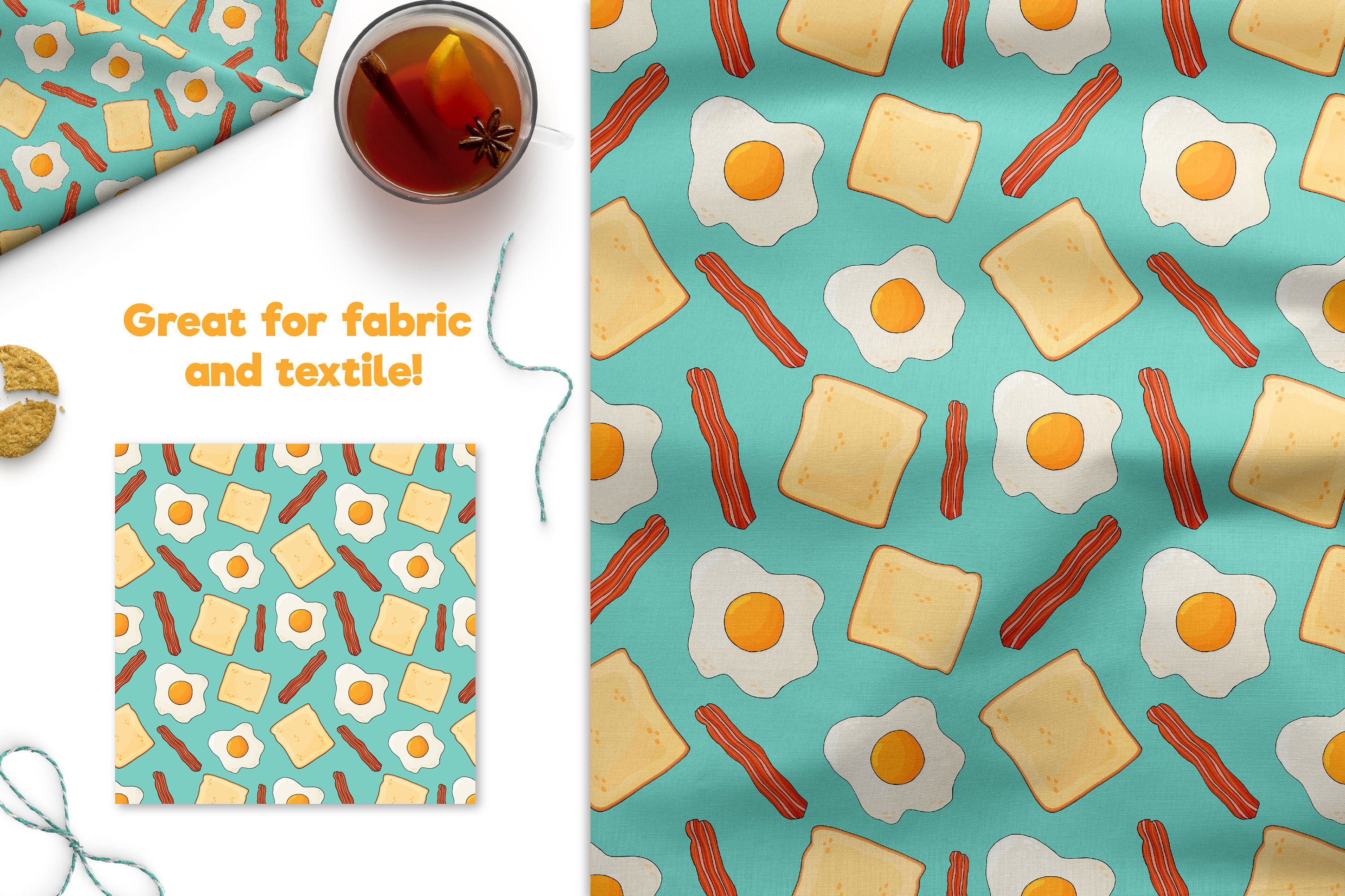 Fried Eggs Patterns example image 3