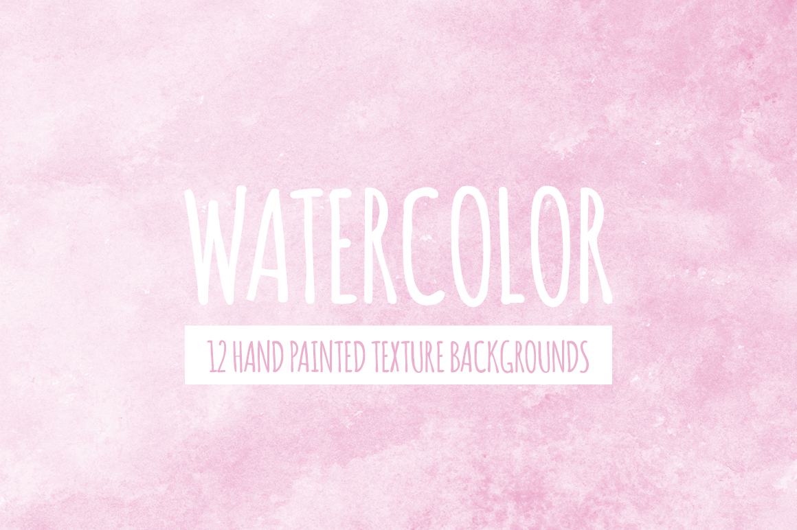 Watercolor Texture Bundle + Bonus example image 8