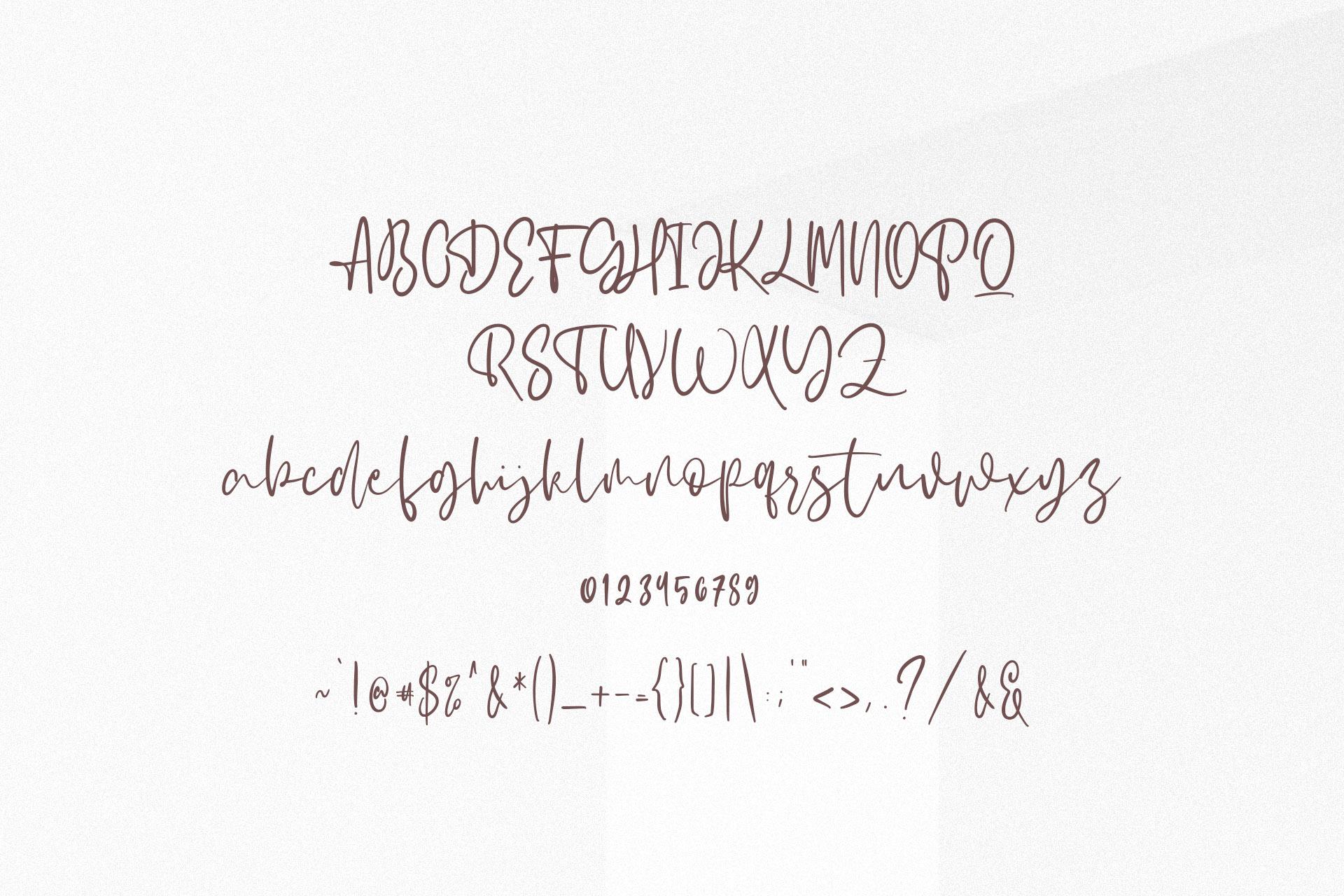 Albertons Script example image 10