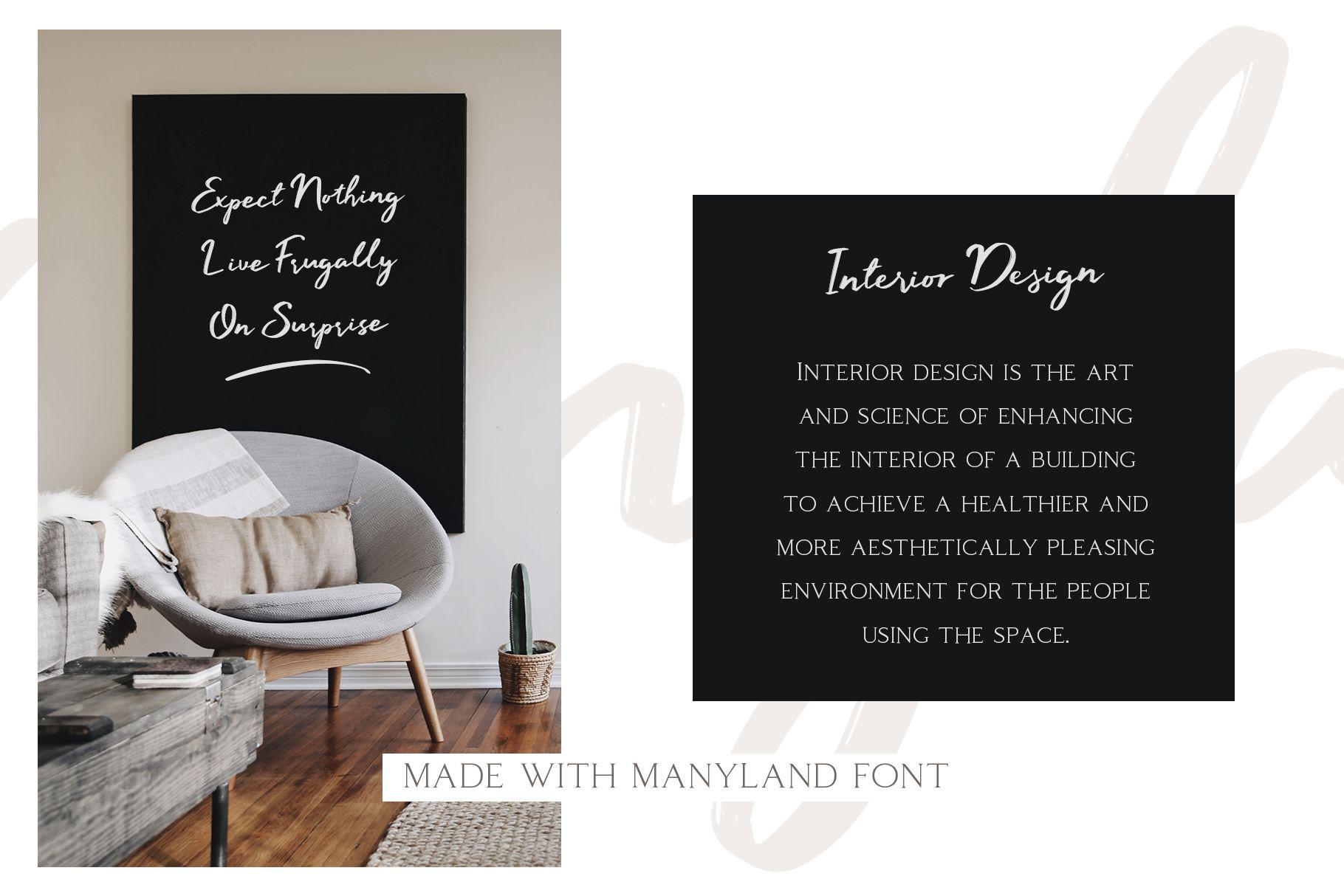 Manyland - Handwritten Font example image 2
