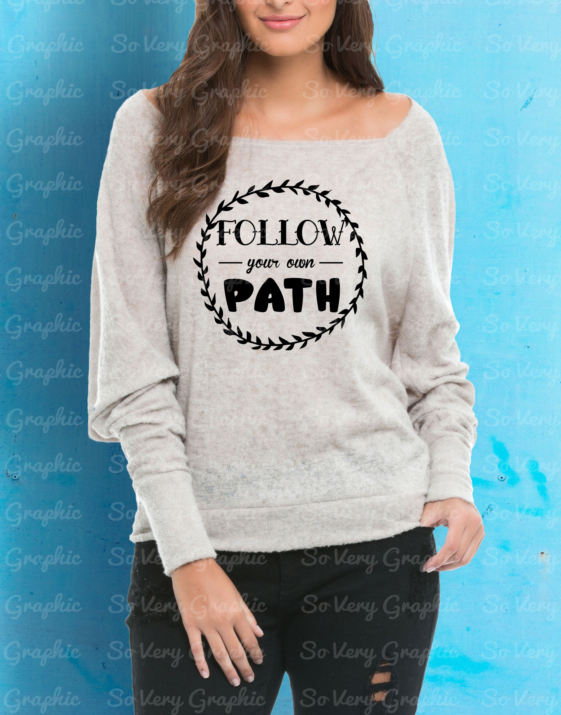 Follow Your Own Path | Cutting & Printable File | SVG | PNG example image 2