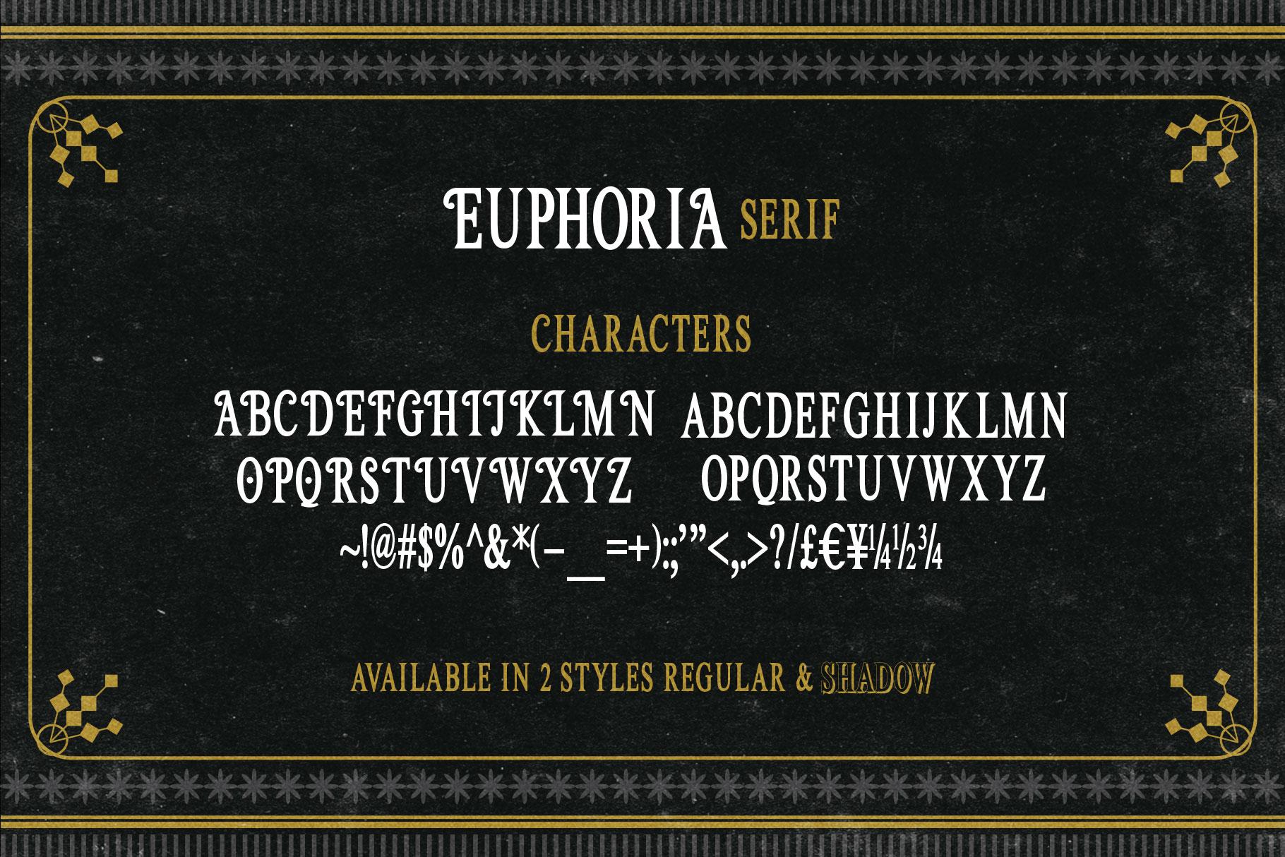 Euphoria Font Family example image 6