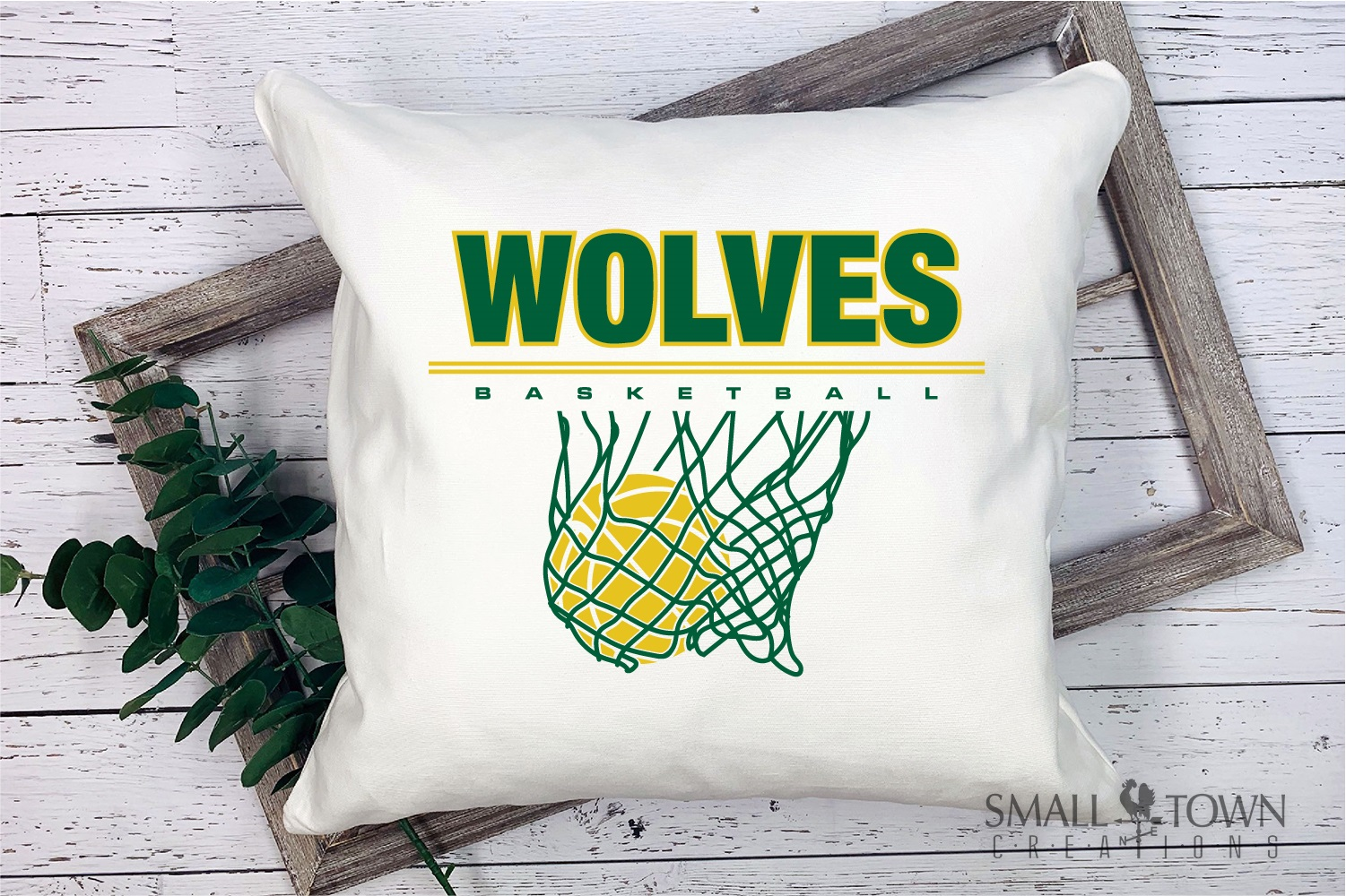 Wolves Basketball, Sport ball, team logo, PRINT, CUT, DESIGN example image 4