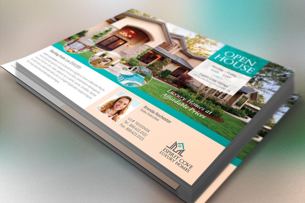 Real Estate EDDM Postcard Template example image 3