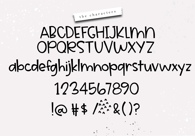Cake Batter - A Handwritten Font example image 7