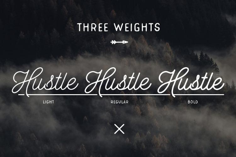 Hustle Script - Monoline example image 4