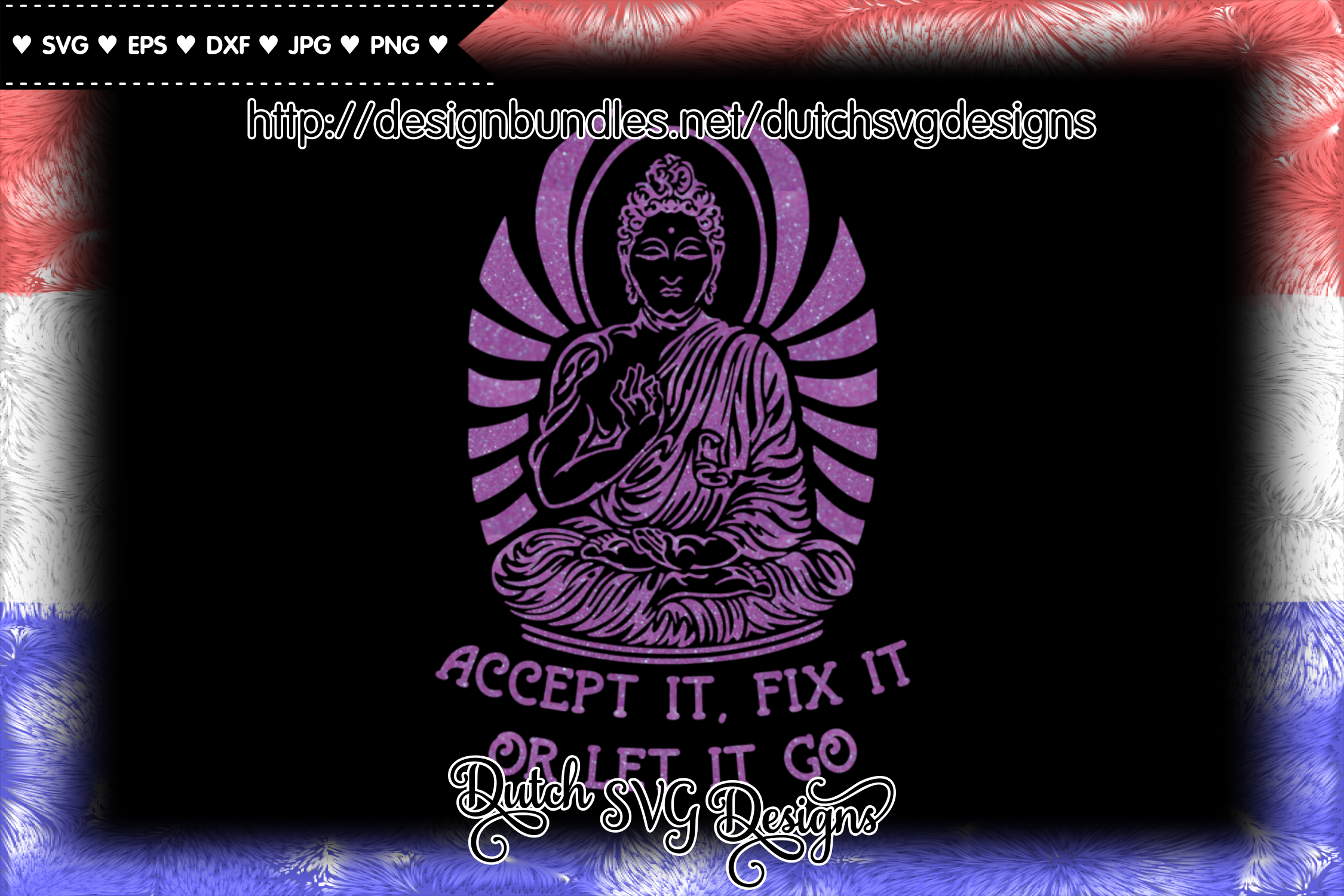 Text cutting file with buddha, buddha vector, buddha svg example image 6